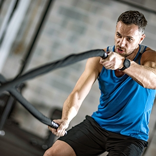 Six reasons to try Spartans workout rope fitness gym equipment Holmes Place