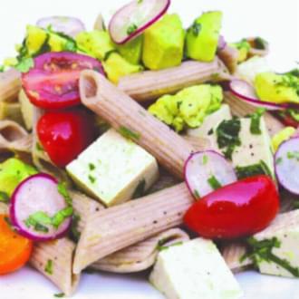 Holmes Place | Vegan pasta salad with tofu