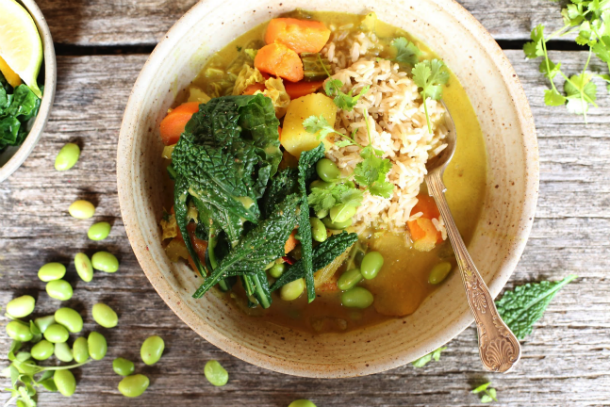 Superfood edamame - yammi curry