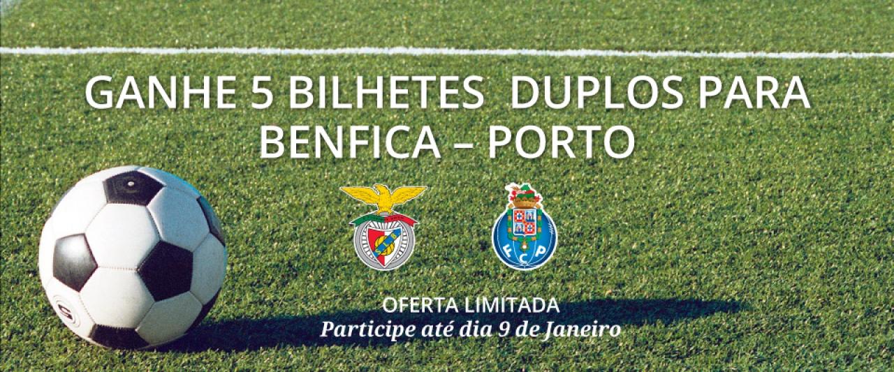 Bilhetes Benfica Porto   Passatempo   Holmes Place