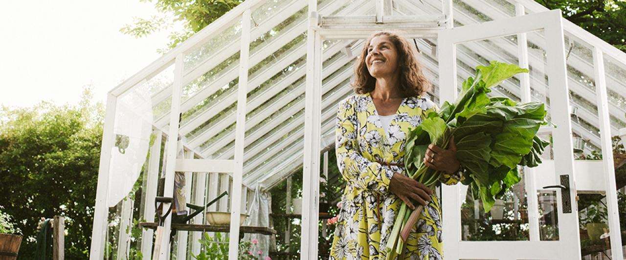 Senhora com alimentação adequada à esclerose multipla | Holmes Place