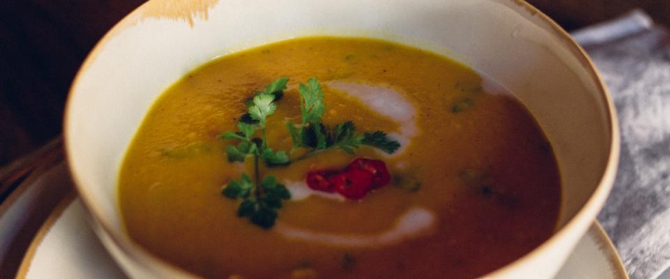 Holmes Place | Pumpkin Soup