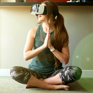 new year resolution fitness trends virtual reality yoga experience workout training Holmes Place