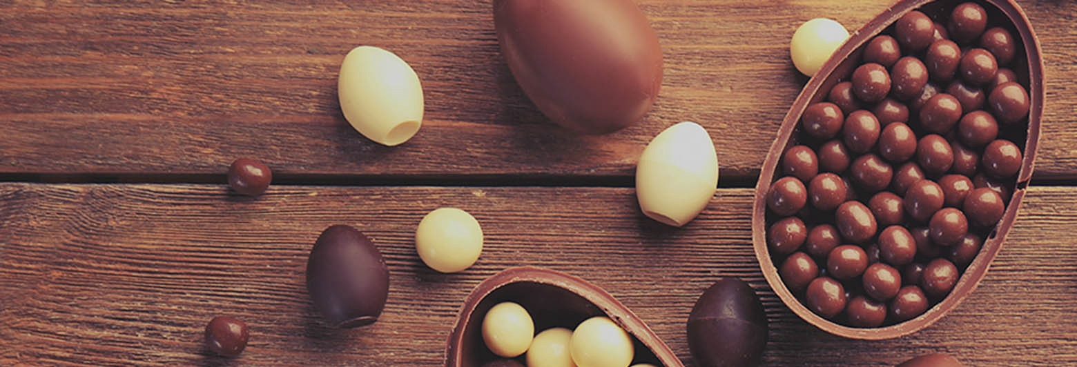 Holmes Place | chocolate easter eggs