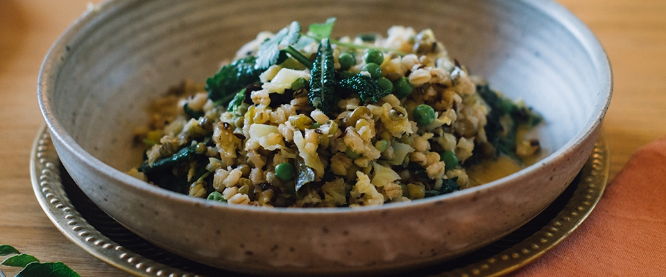 barley kichadi recipe food detox auyrvedic cleanse Holmes Place