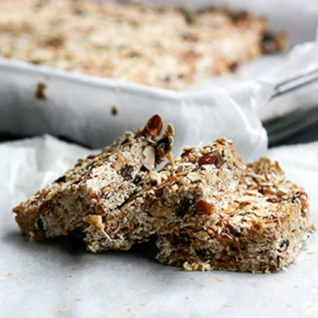 holmes place | granola bar recipes