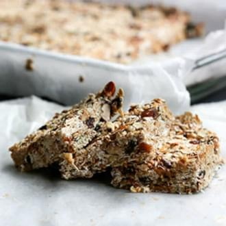 holmes place | granola bar recipes