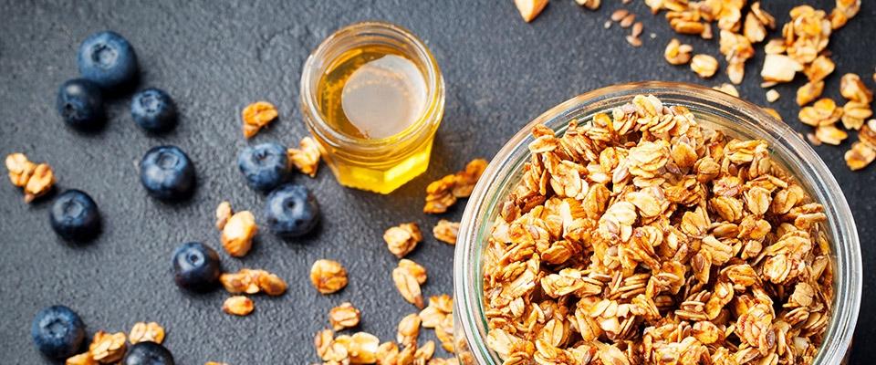 Granola | Alimentos que aumentam a energia | Holmes Place