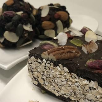 Holmes Place | συνταγή vegan superfood Raw Chocolate