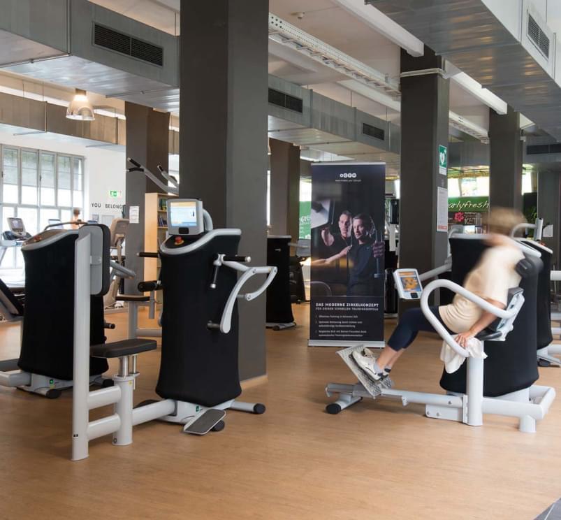 hütteldorf club event e-gym zirkeltraining einführung