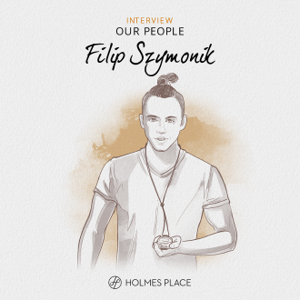 Our People Filip Szymonik illustration Holmes Place