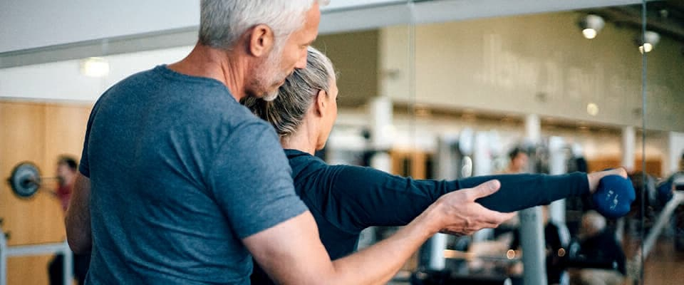 fitness training older age workout Holmes Place