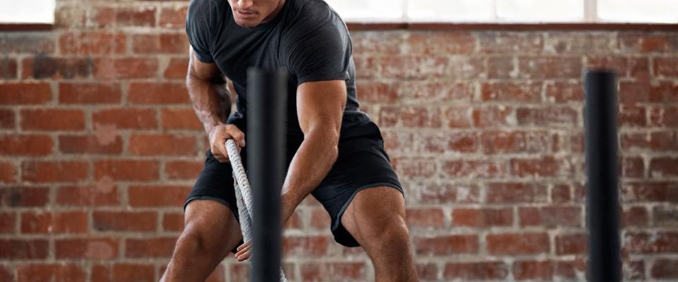 fitness banner treino de forca