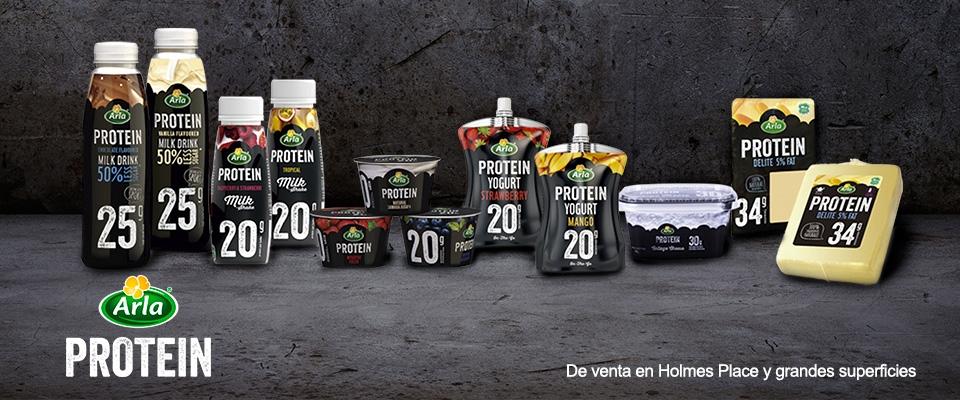 Gama de productos Arla Protein | Gimnasios Holmes Place