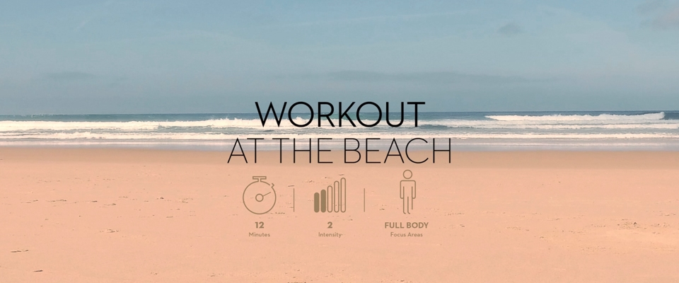 beach sand and sea - workout | Holmes Place