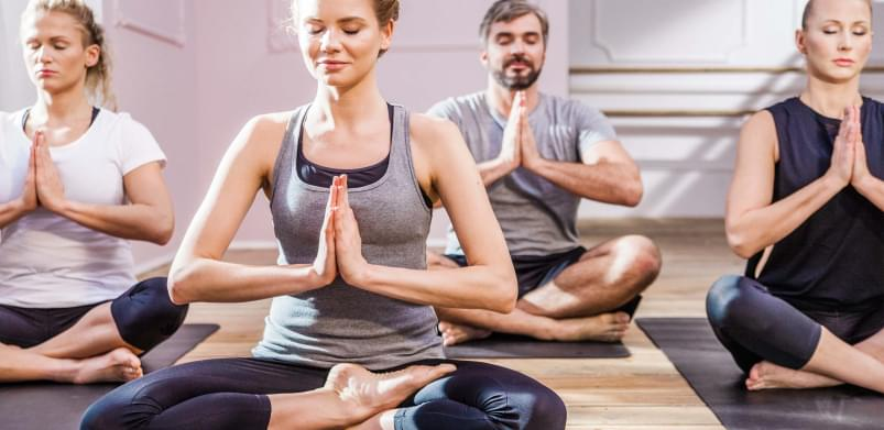 Relax at our Yoga class