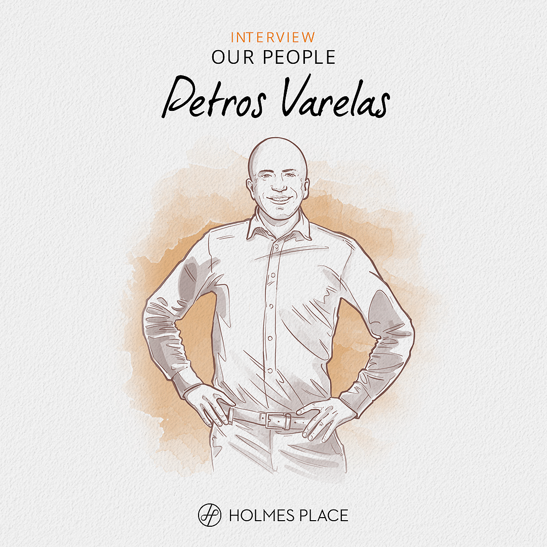 Petros Varelas Our People Interview Holmes Place Maroussi