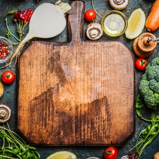 Holmes Place | Cutting board