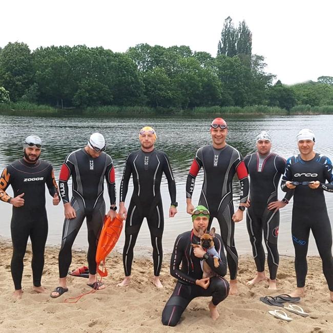 Treningi Open Water Swimming club