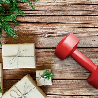 Holmes Place | Christmas Presents Dumbell