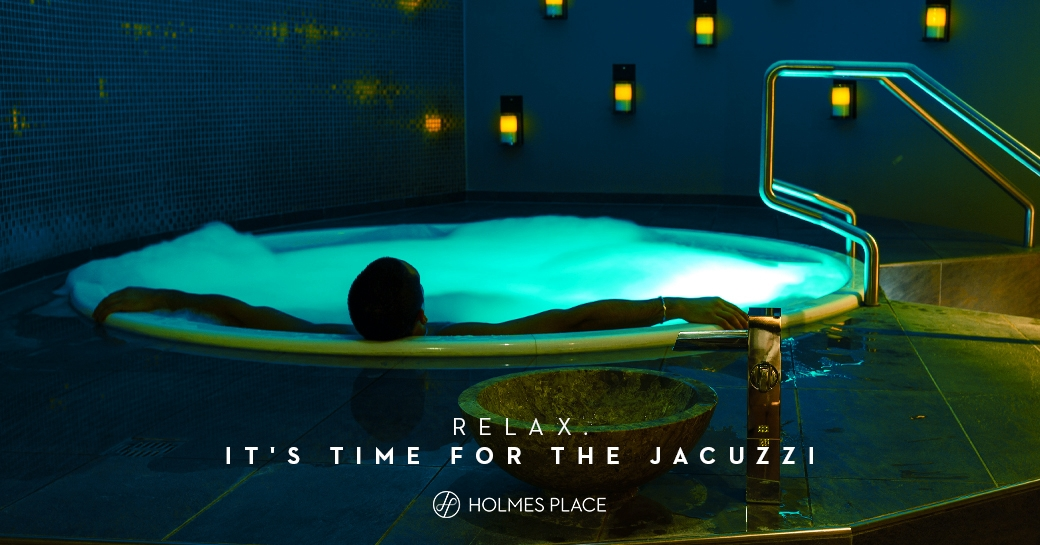 Jacuzzi bubble health beauty spa wellness massage Holmes Place
