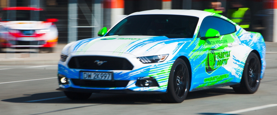 ford mustang | Holmes Place | Fabryka Driftu