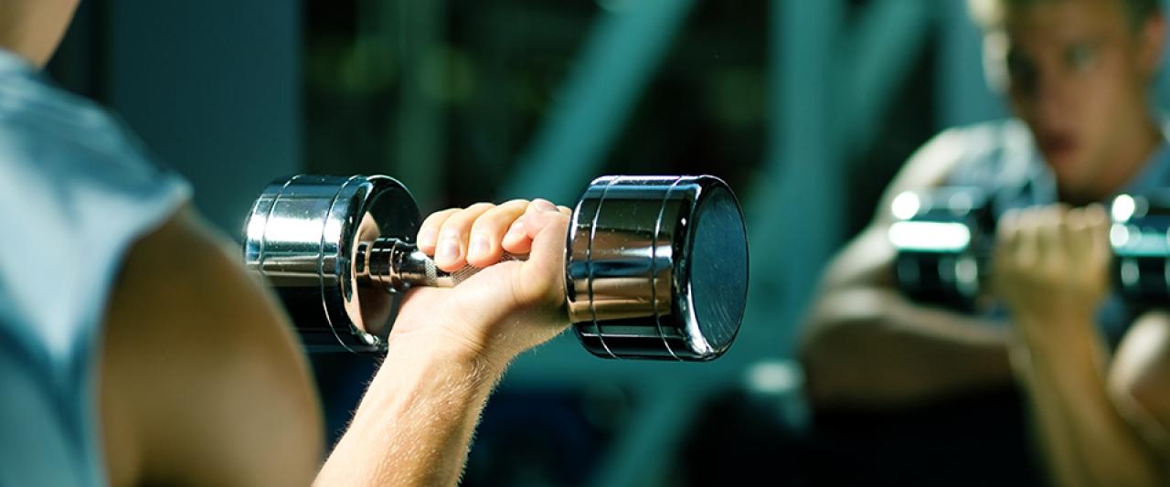 Exercício halteres | Aumentar a Força | Holmes Place