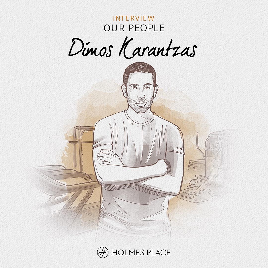 our people Dimos Karantzas, regional manager in Poland, illustration