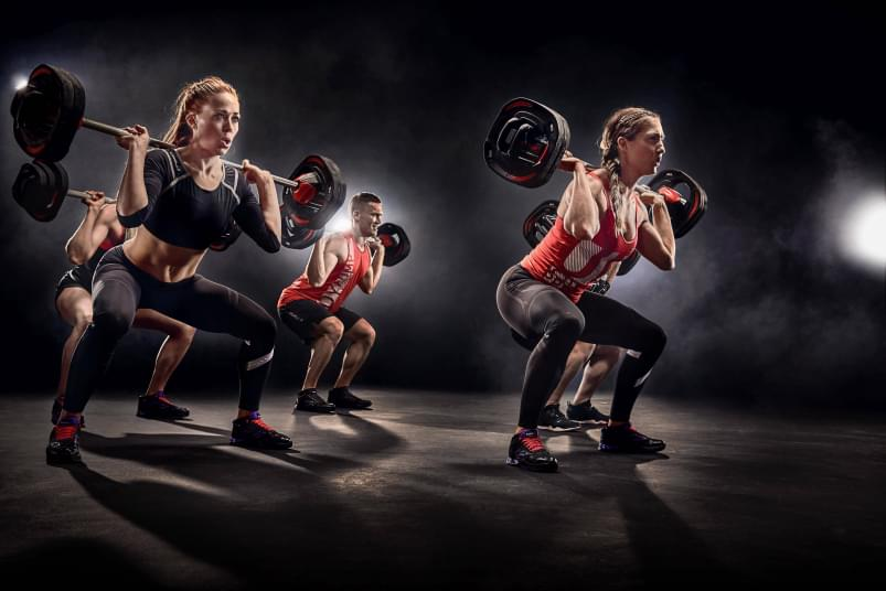Body Pump at Holmes Place