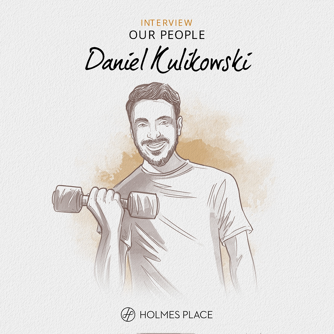 Daniel Kulikowski illustration | Holmes Place