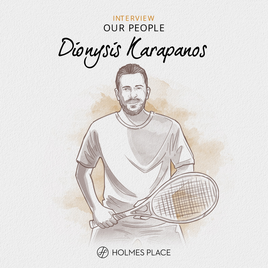 Illustration our people dionysis karapanos