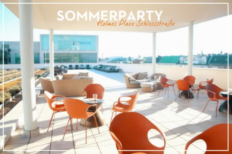 Sommerparty Holmes Place Schlossstrasse