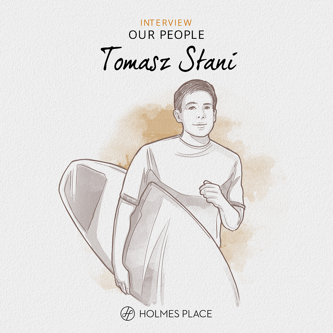 Our People Tomasz Stani – Personal Trainer, Holmes Place Hilton, Warsaw illustration Holmes Place