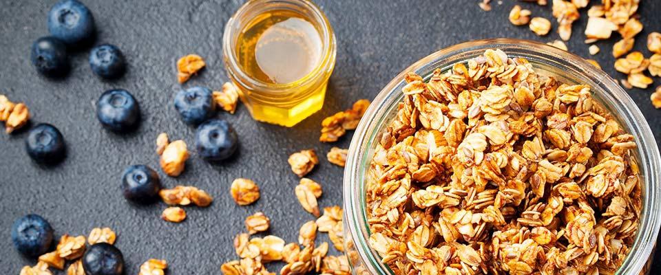 Cereais e mirtilos | Barras de proteína | Dieta | Holmes Place