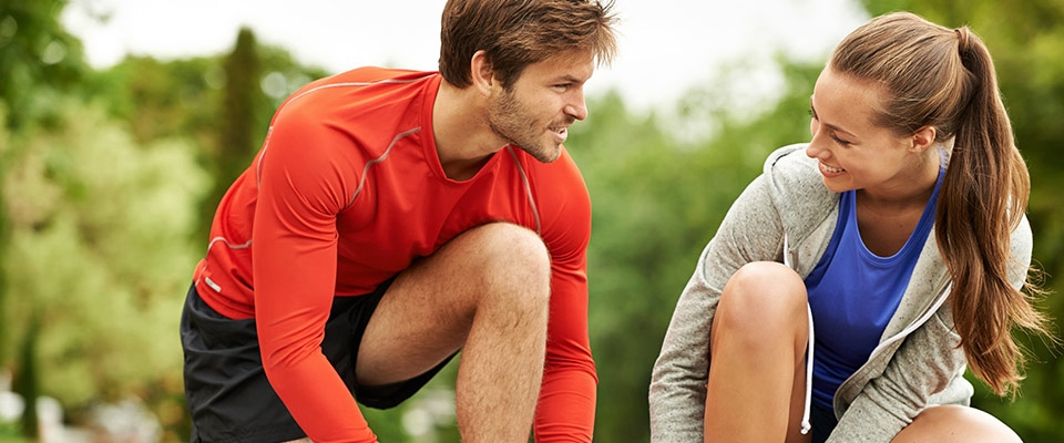 Couple workout | Healthy habits | Holmes Place