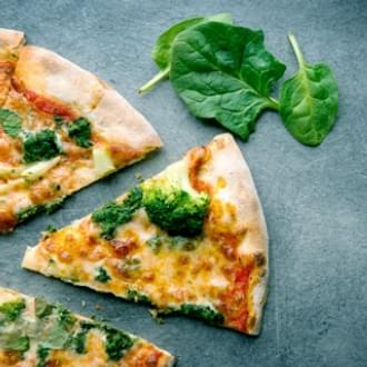 healthy veggie pizza slices with basil diet | Holmes Place