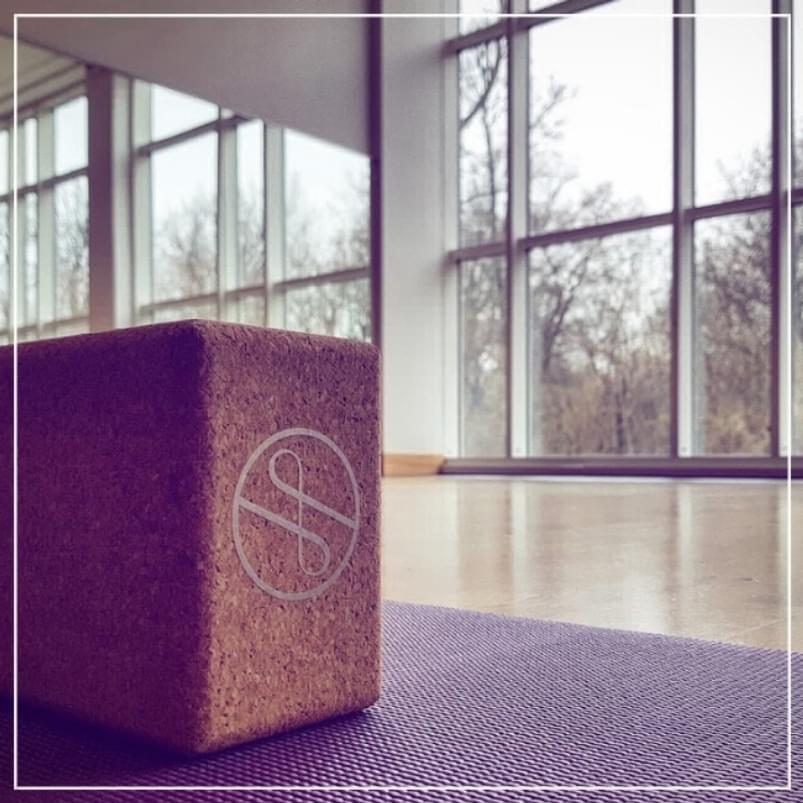 Prepared studio at Holmes Place Neue Welt for a wonderful yoga class