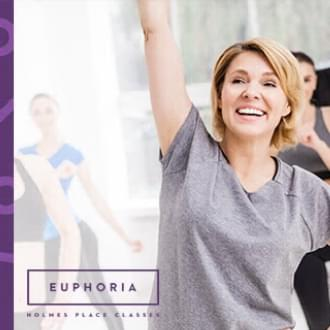 Three great reasons to try Euphoria, Holmes Place, Group classes, woman dancing