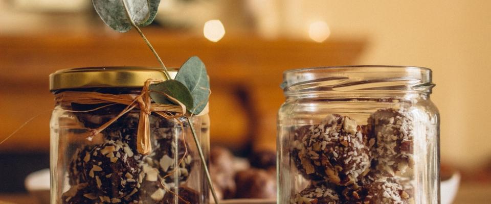 Holmes Place | Truffles in Glass Jar