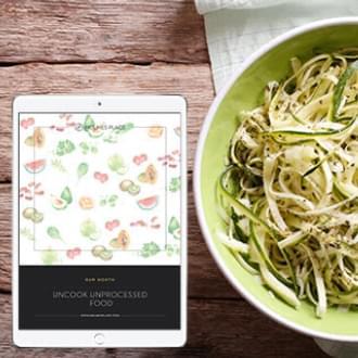 zucchini spaghetti bowl recipe guide   Holmes Place