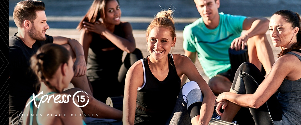 Six reasons to try Xpress classes, people smilling