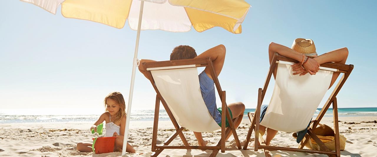 Família na praia | Férias | Holmes Place