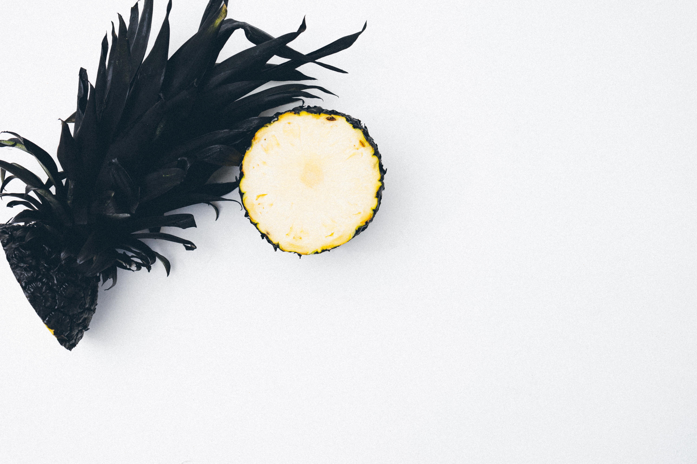 Schwarze Ananas