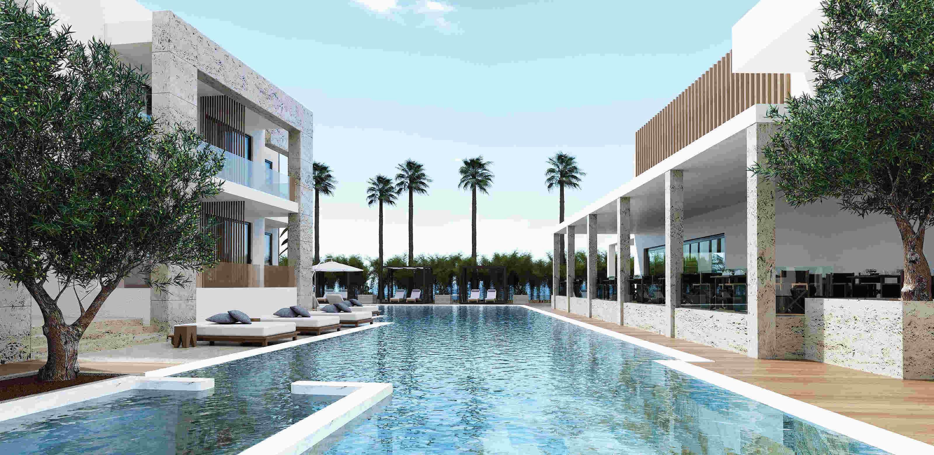 holmes place | lango design hotel poolside