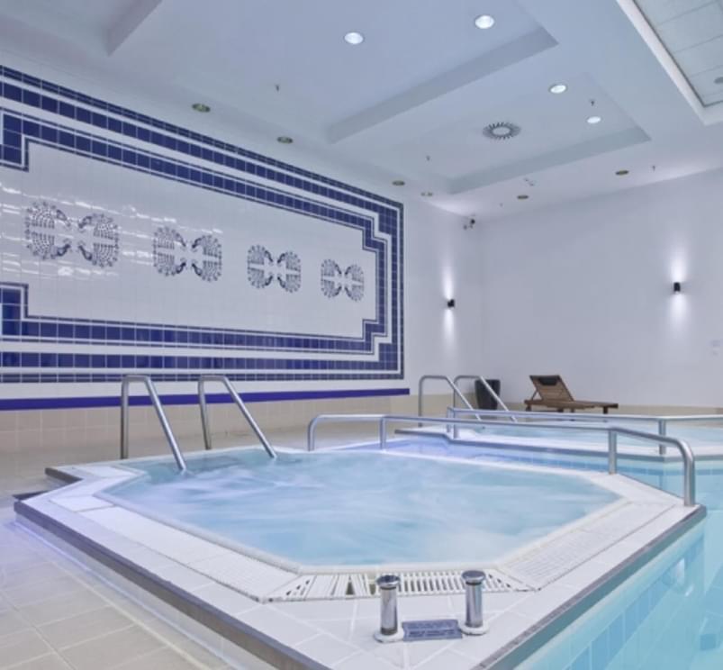Holmes Place Poland | Premium Hotel Marriott | Jacuzzi