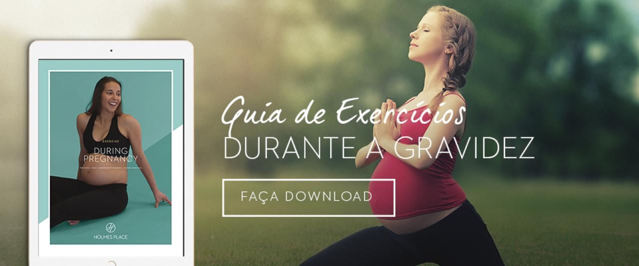 Ebook de Grávida a fazer exercício físico | Holmes Place