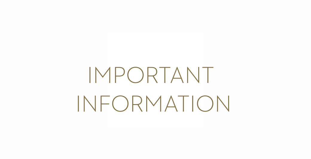 important information | Holmes Place