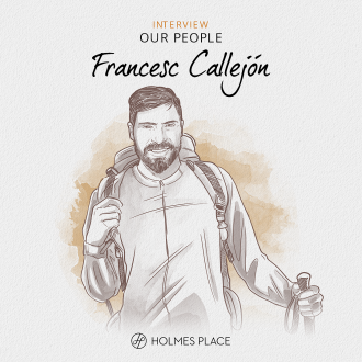 Francesc Callejón, Product Manager at Holmes Place Spain illustration Holmes Place